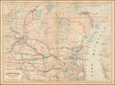 Wisconsin Map By Asher  &  Adams