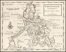 Philippines Map By Herman Moll