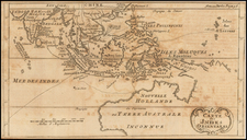 Indian Ocean, Southeast Asia and Australia Map By William Dampier