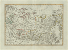 Russia in Asia Map By Weimar Geographische Institut
