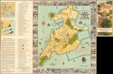 China, Pictorial Maps and Hong Kong Map By Hongkong Printing Press Ltd