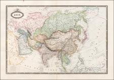 Asia Map By F.A. Garnier