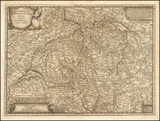 Switzerland Map By Johann Caspar Steiner
