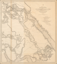 Virginia Map By U.S. War Department