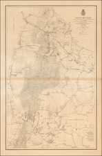 Maryland Map By United States Bureau of Topographical Engineers