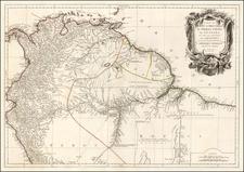 Colombia, Brazil, Guianas & Suriname and Peru & Ecuador Map By Paolo Santini