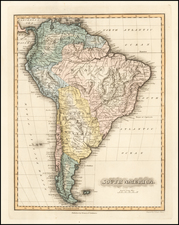 South America Map By Fielding Lucas Jr.