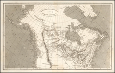 Plains, Rocky Mountains, Pacific Northwest and Canada Map By Anonymous / Aaron Arrowsmith