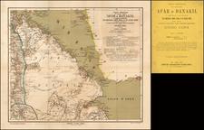 Arabian Peninsula and East Africa Map By Guido Corda