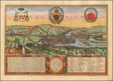 Map By Georg Braun  &  Frans Hogenberg