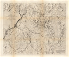 Southwest, Arizona, Colorado, Utah, New Mexico, Rocky Mountains, Colorado and Utah Map By John N. Macomb