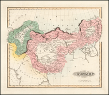 China and Central Asia & Caucasus Map By Fielding Lucas Jr.