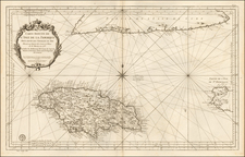 Jamaica Map By Depot de la Marine