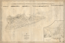 Virgin Islands Map By British Admiralty