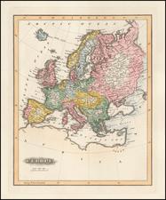 Europe Map By Fielding Lucas Jr.