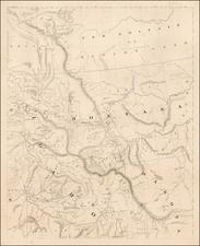 Idaho, Montana, Pacific Northwest, Oregon, Washington and British Columbia Map By H.H. Bancroft & Company / William H. Knight