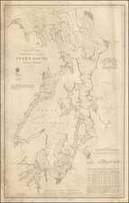 Washington Map By United States Coast Survey