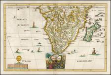 Africa Pars Australis By Heinrich Scherer