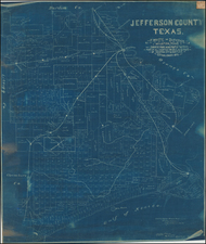 Texas Map By Patrick Whitty