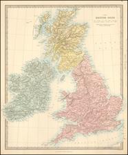 British Isles Map By SDUK