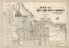 Utah and Utah Map By Browne & Brooks