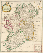 Ireland Map By Richard William Seale