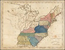 United States Map By William Barker