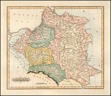 Poland Map By Fielding Lucas Jr.