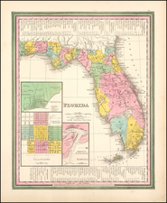 Florida Map By Henry Schenk Tanner