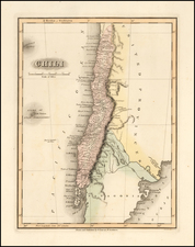 Chile Map By Fielding Lucas Jr.
