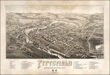New Hampshire Map By Beck & Pauli / George E. Norris
