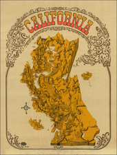 Pictorial Maps and California Map By David Schiller