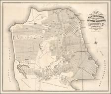San Francisco & Bay Area Map By Grafton Tyler Brown & Co.