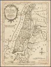New York City and Mid-Atlantic Map By Thomas Kitchin