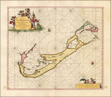 Bermuda Map By Johannes Van Keulen