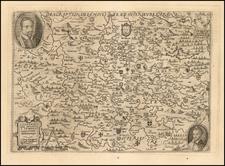 France and Nord et Nord-Est Map By Matthias Quad  &  Johann Bussemachaer