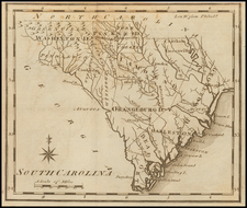 South Carolina Map By Joseph Scott