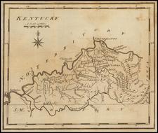 Kentucky Map By Joseph Scott