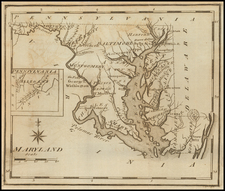 Maryland Map By Joseph Scott