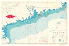 China, Pictorial Maps and Hong Kong Map By Hong Kong Fisheries Service 香港魚農處制