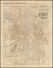 Michigan Map By Geo L.  Edloff