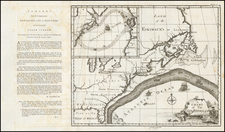 Atlantic Ocean, United States, Mid-Atlantic, Florida and Southeast Map By Benjamin Franklin / American Philosophical Society