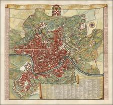 Map By Domenico Rossi / Antonio Barbey