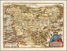 Romania Map By Matheus Merian