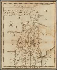 New Hampshire Map By Joseph Scott