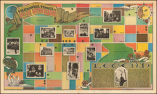 Pictorial Maps and San Francisco & Bay Area Map By Rolling Stone Magazine