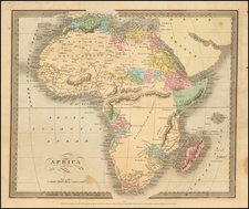 Africa and Africa Map By David Hugh Burr