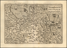 Netherlands Map By Matthias Quad / Johann Bussemachaer