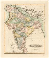 India Map By Fielding Lucas Jr.