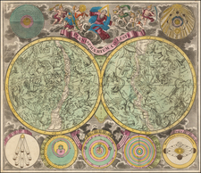 Celestial Maps Map By Melchior Rein